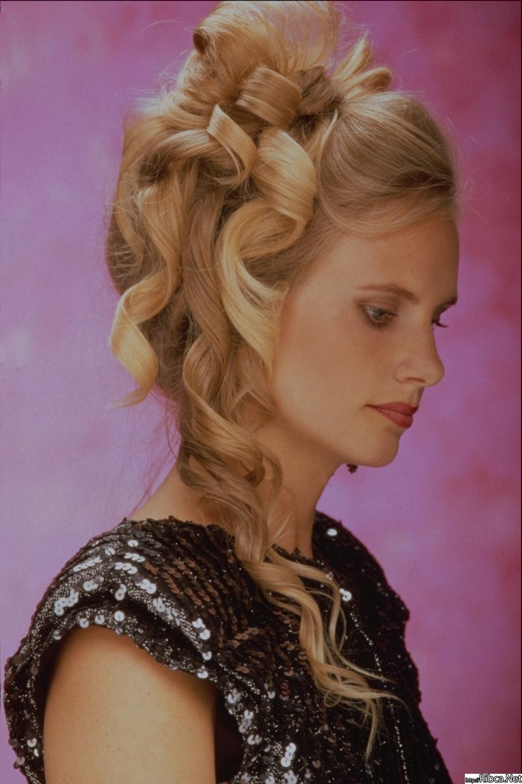 Нарядные причёски для длинных волос